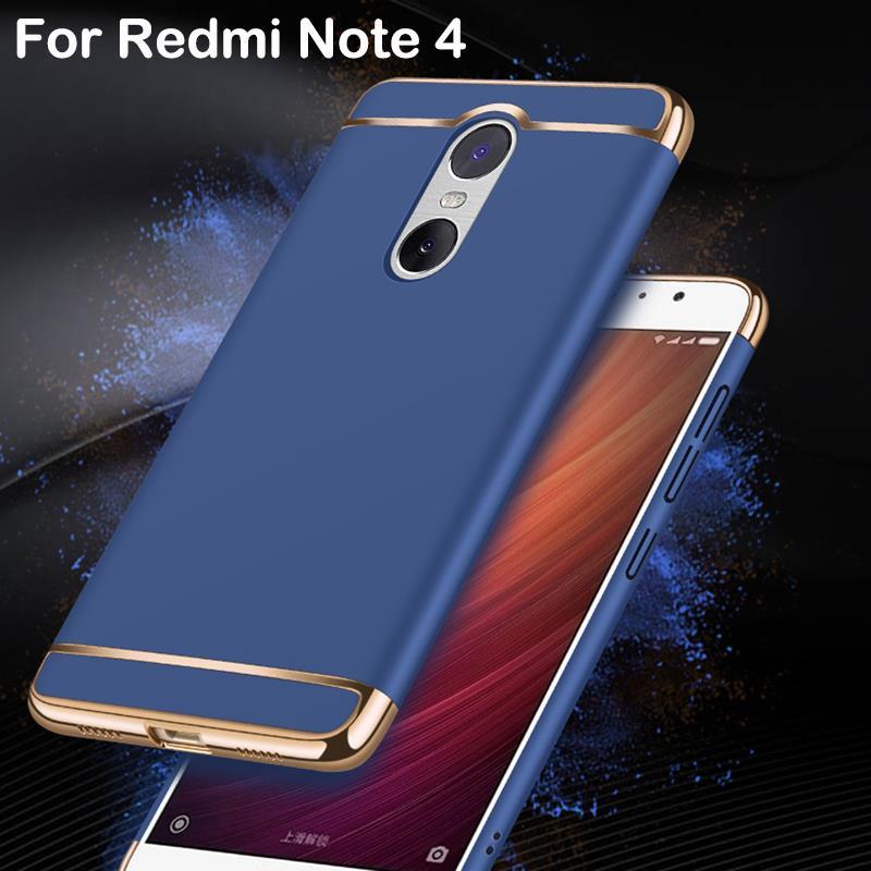 info for 7cbd7 01a30 RedMi Note 4 3 Redmi 4A Heyqie Luxury 3 in 1 Slim PC Phone Cover Case