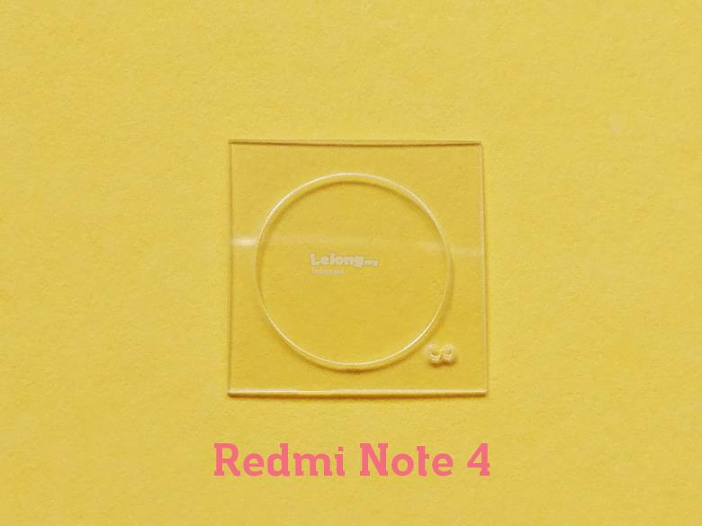 Redmi Note 4 Tempered Glass Camera Protector