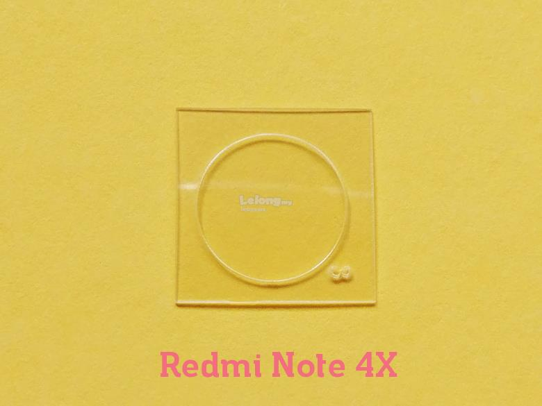 Redmi Note 4X Tempered Glass Camera Protector