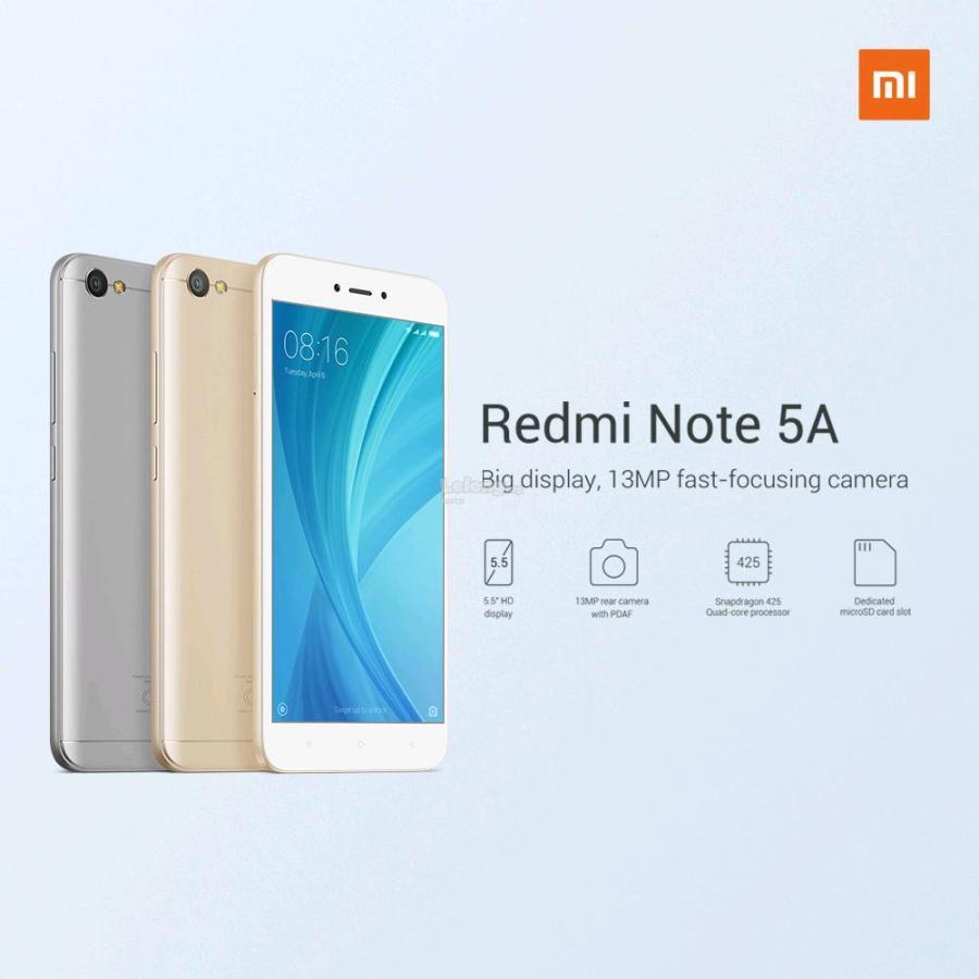 Redmi Note 5a 2gb Ram 16gb Romorigi End 4 12 2019 215 Pm Xiaomi 3 2 16 Gb Romoriginal Malaysia Set