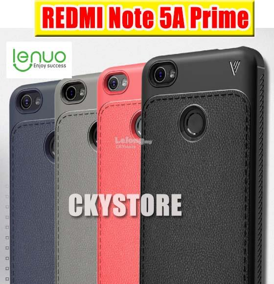 REDMI Note 5A Prime LENUO New Leather Full Protection Back Case