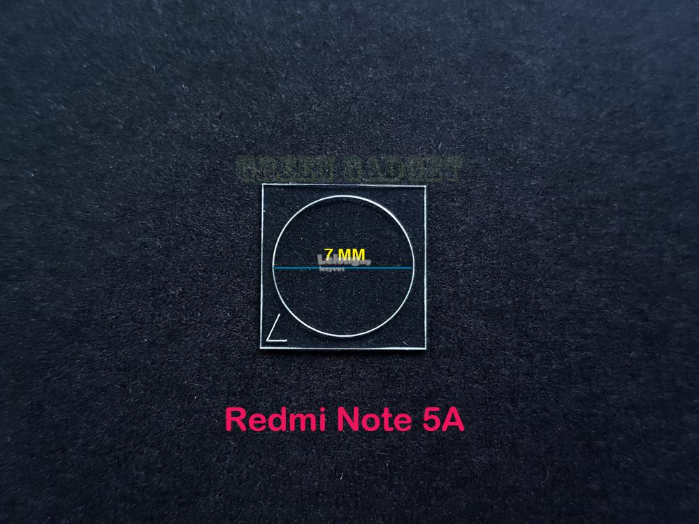 Redmi Note 5A Tempered Glass Camera Protector