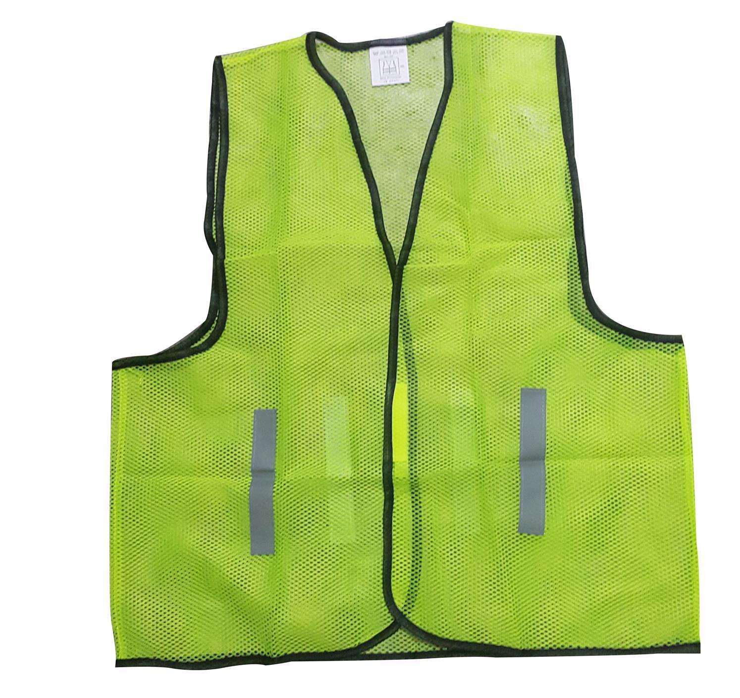Reflective Safety Vest Net Orange Or Green
