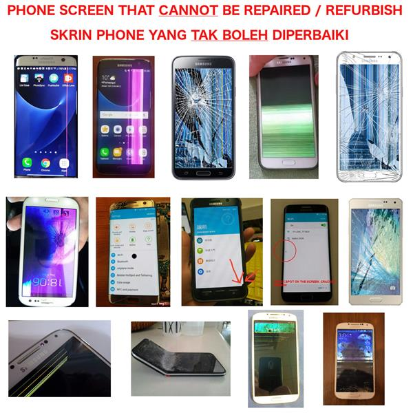 Refurbish Original Honor 7X LCD Screen Touch Screen Broken BND-L21C