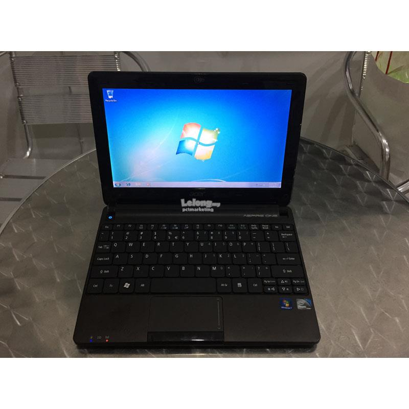 Refurbished Acer Aspire One D270 10 Intel Atom 2GB RAM 250GB