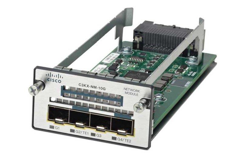 (Refurbished) Cisco Catalyst C3KX-NM-10G Network Module (C3KX-NM-10G=)