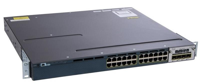 (Refurbished) Cisco Catalyst WS-C3560X-24T-L Switch + 4x1G