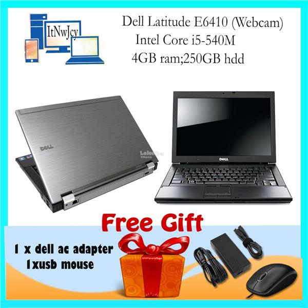 Refurbished Dell Latitude E6410 Corei5-520M;4GBram:250GB Hdd;Win7