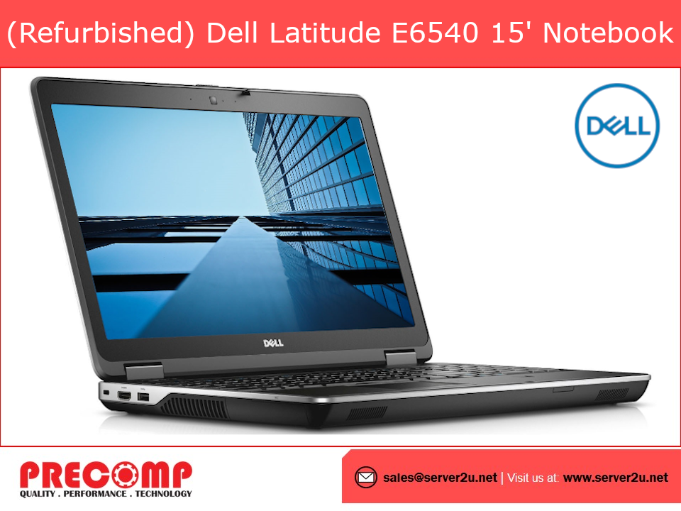 (Refurbished) Dell Latitude E6540 Notebook i5-4300M (E6540-i5-4G-128G)