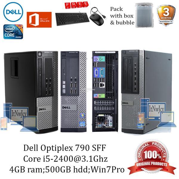 Refurbished Dell Optiplex 790 SFF PC Core i5-2400