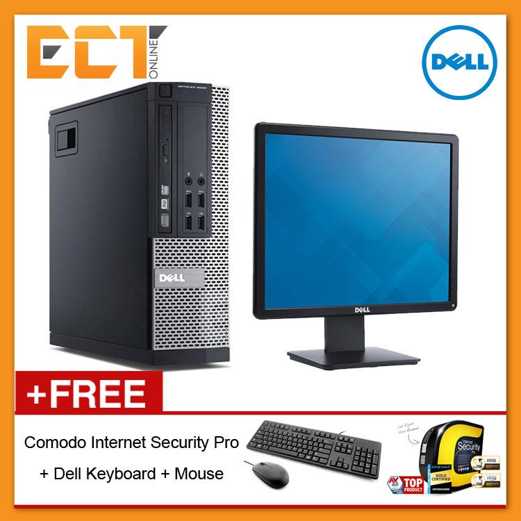 (Refurbished) Dell Optiplex 9020 SFF Business Desktop + Dell E1913S