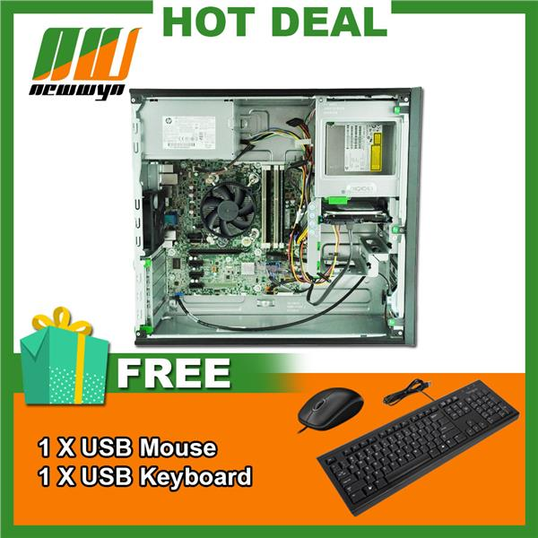 (Refurbished)HP Prodesk 600 G1 TWR/i7-4770 CPU@3.40GHz 3.40GHz/8GB RAM