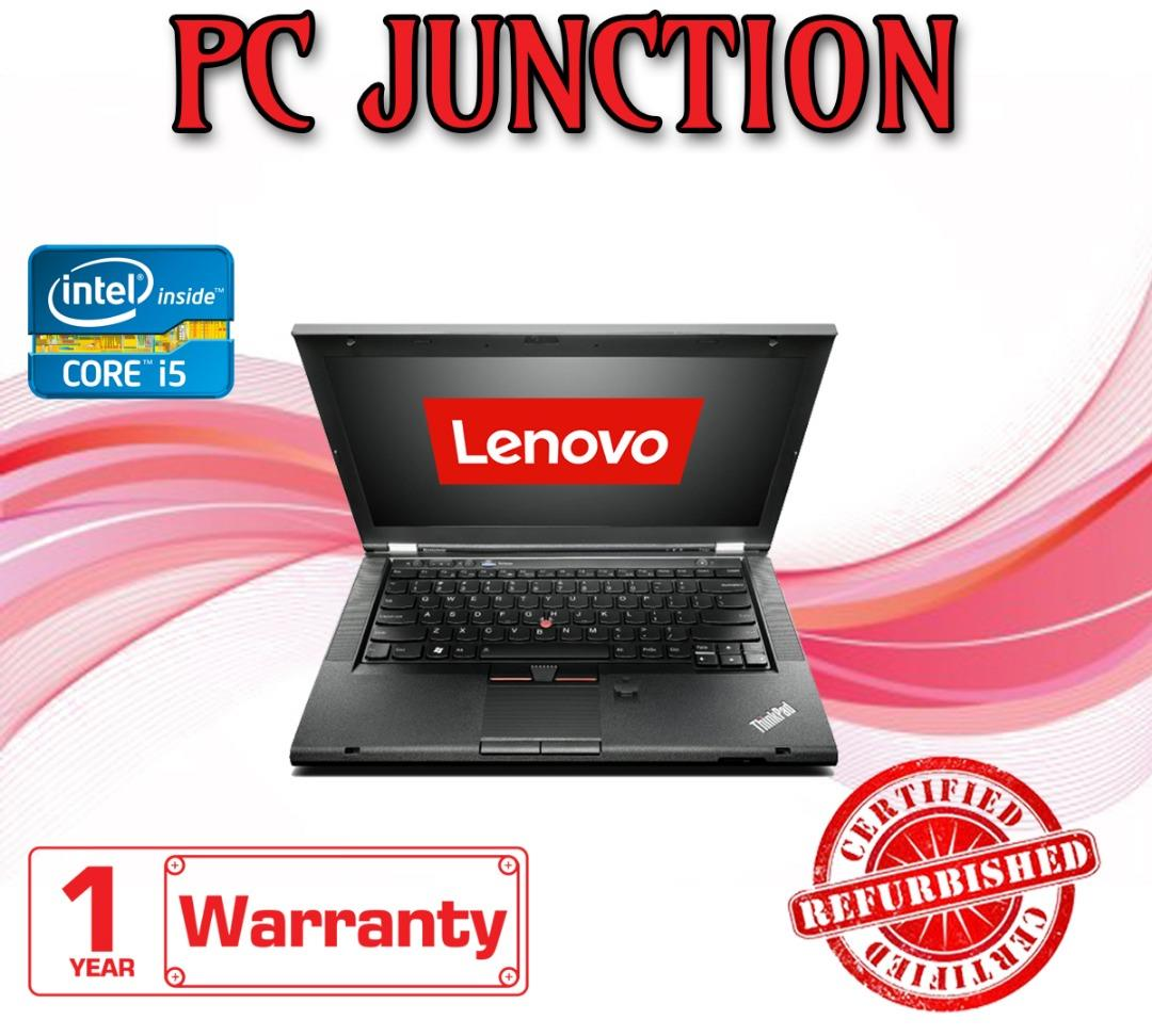 (REFURBISHED) Lenovo ThinkPad T430 i5-3320m 2 6GHz 8GB 240GB SSD WIN 7