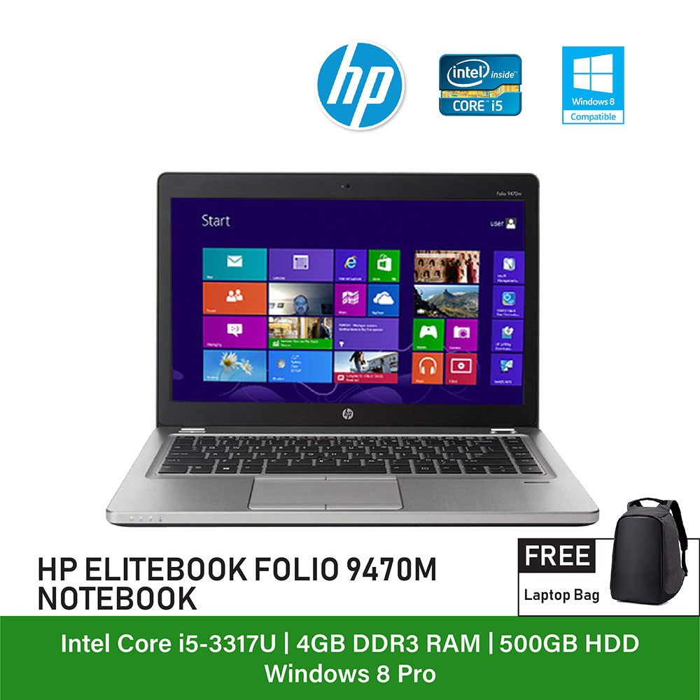 Refurbished Notebook Hp Folio 94 End 11 17 2021 12 00 Am