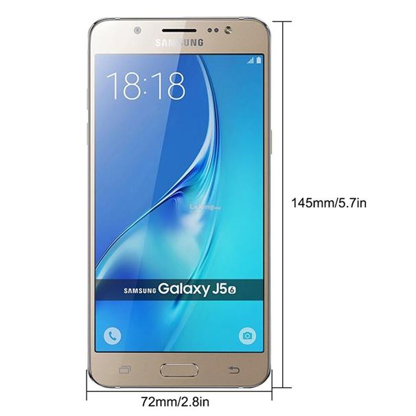 Refurbished Samsung J5108 5.2 inch Capacitive Touchscreen 2GB+16GB Sma
