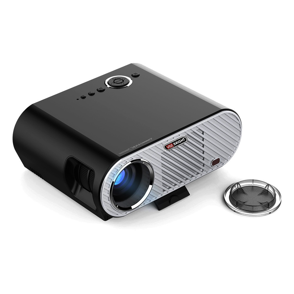 REFURBISHED VIVIBRIGHT GP90 PROJECTOR 3200 LUMENS HOME THEATER SUPPORT..