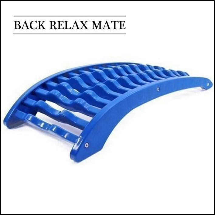 Back Relax Mate Orthopedic Back Stretcher for Office/ Car