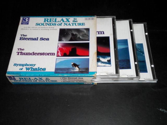 RELAX TO THE SOUNDS OF NATURE 3-CD SET