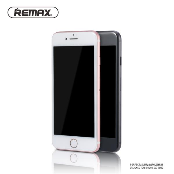 REMAX 2.5D 9H HD Perfect Tempered Glass iPhone 7 Plus Black