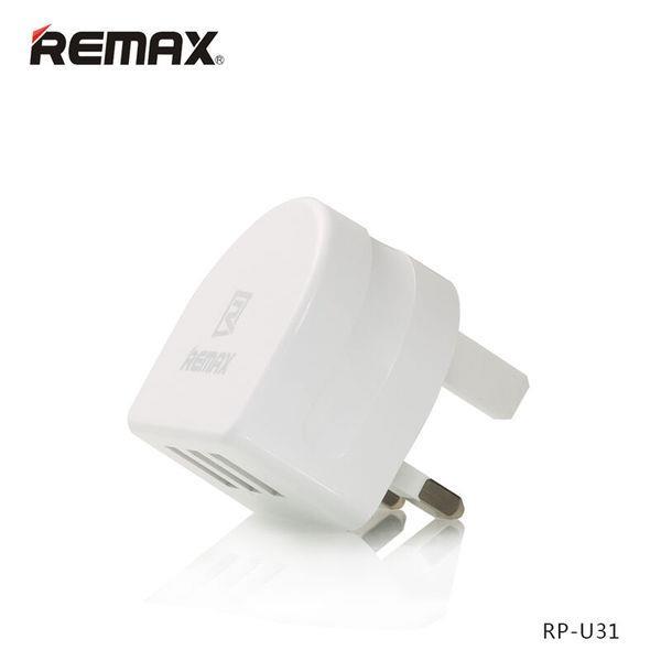 Remax 3 USB Port 3.1A RP-U31 2 USB Port 2.1A RMT7188 Charging Adapter