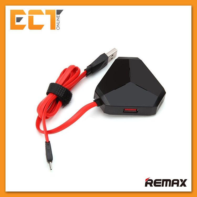 Remax Aliens 3 Port USB 2.0 Hub and Micro USB to USB 2.0 Conventer
