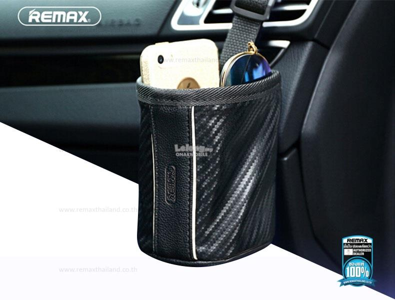 REMAX CS 01 Multifunctional Car Seat Storage Bag With S Shaped Hook Bl