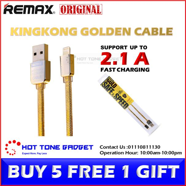 REMAX Fast Charging Lightning Type C Micro USB Cable iPhone - OTG