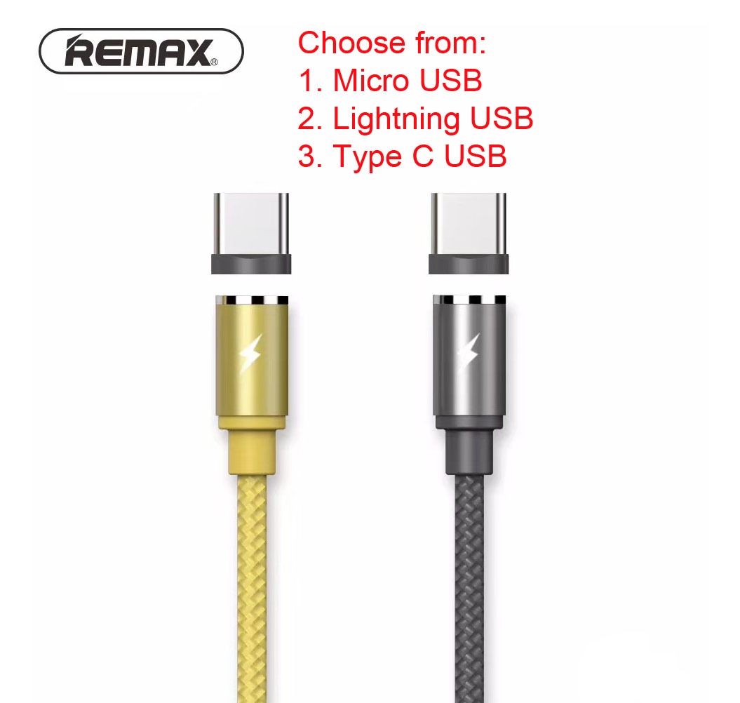 Remax Gravity Magnetic Magnet Cable (end 6/13/2020 1:19 PM)