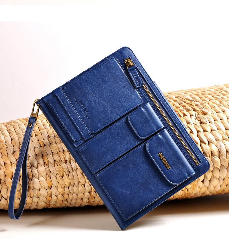 REMAX iPad Air 2 Mini 1 2 3 Card Holder Pedestrian Leather Bag .