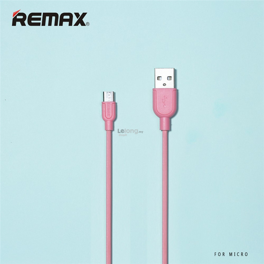 Remax Micro USB Cable Fast Charging Mobile Souffle Data Cable Android