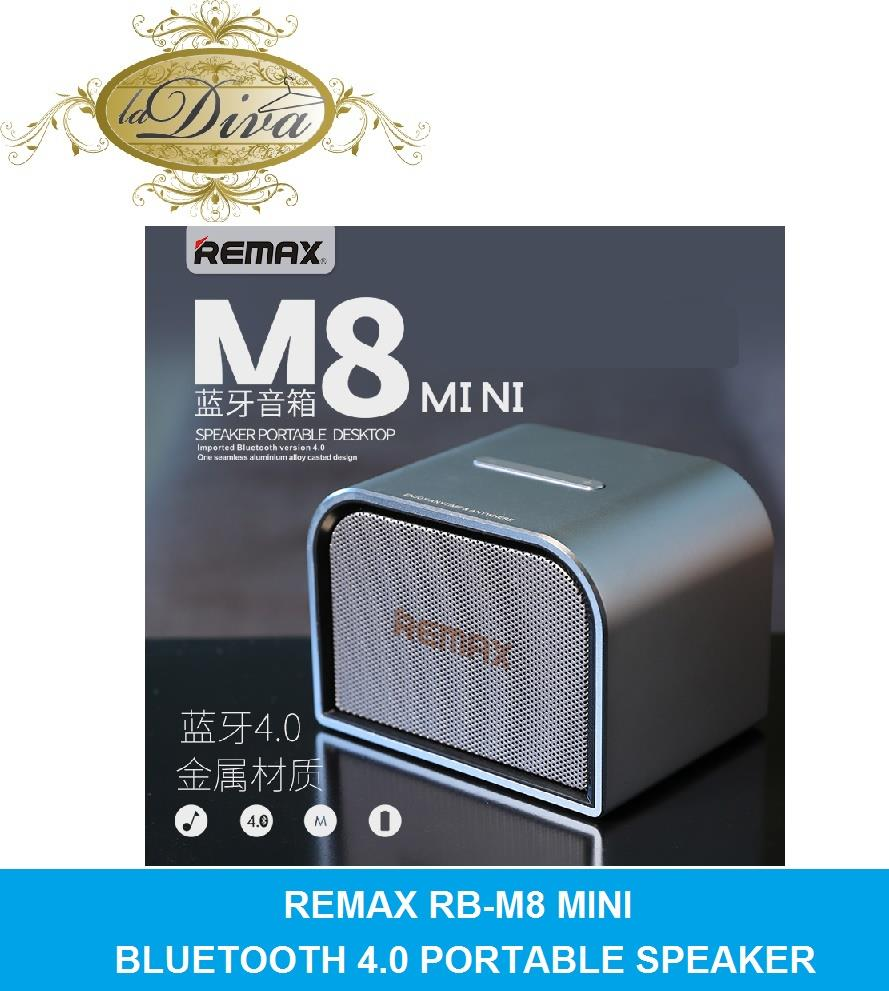 REMAX RB-M8 MINI BLUETOOTH 4.0 PORTABLE SPEAKER (SP-BT/RMM8M