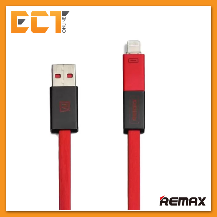 Remax RC-026T Shadow Magnet Absorption 2 in 1 Charging Cable