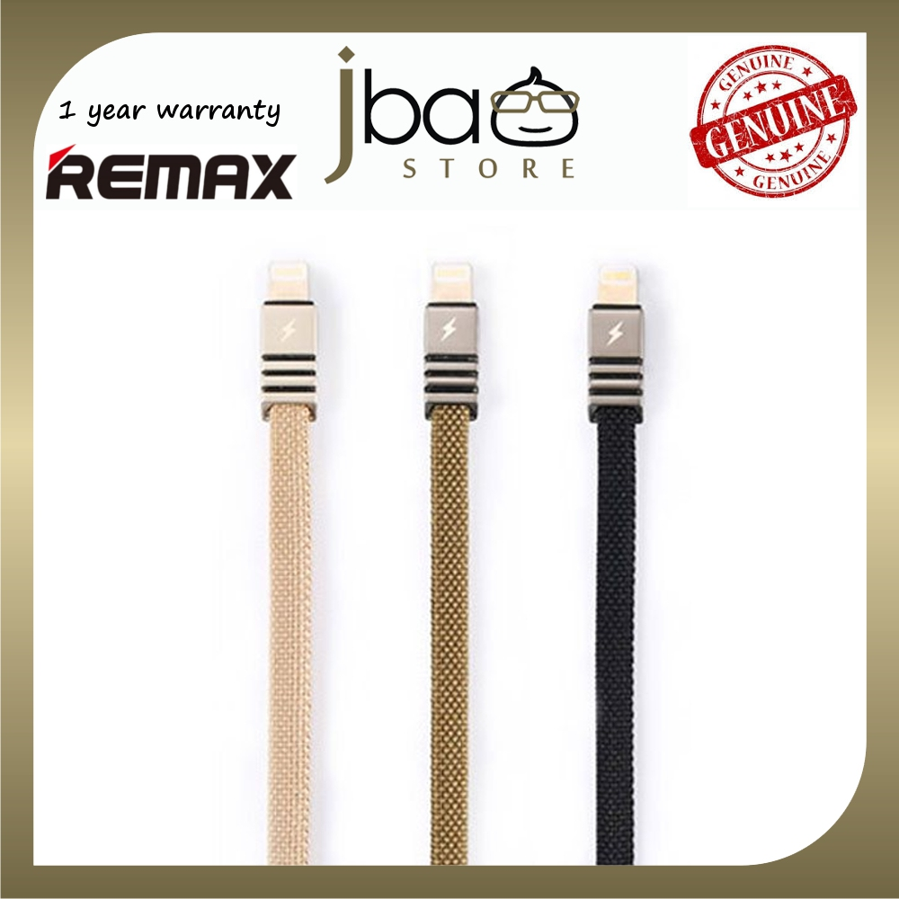 REMAX RC-081M 1M WEAVE SERIES MICRO USB 2.1A Fast Charge Retro DATA CABLE