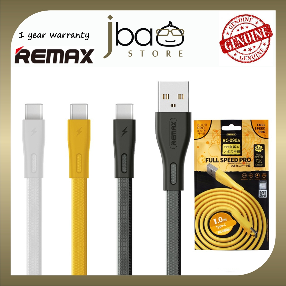REMAX RC-090A FULL SPEED PRO SERIES FAST CHARGE TYPE-C CABLE RC090A