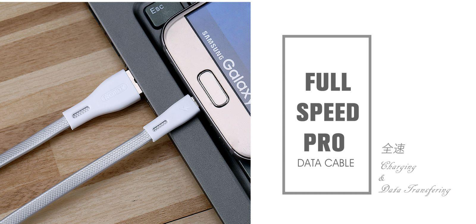 Remax RC-090i Lightning iPhone Full Speed Pro Charging USB Data Cable