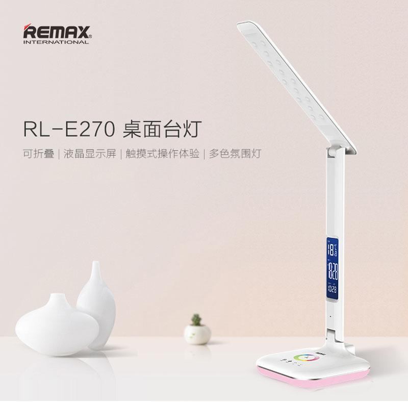 Remax RL-E270 LED Touch Lamp Light with LCD Display Screen Study Table