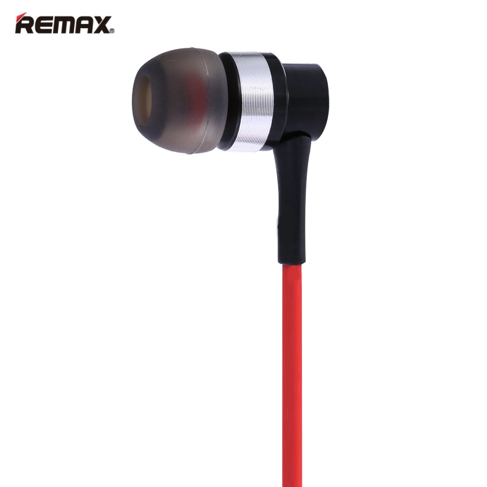 REMAX RM-535I 3.5MM PLUG SPORT BASS HEADPHONE STEREO HEADSET WITH MIC