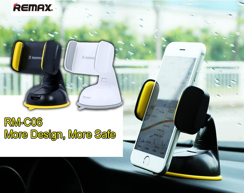 REMAX RM-C06 MOBILE Phone GPS Standable Dashboard Car Holder