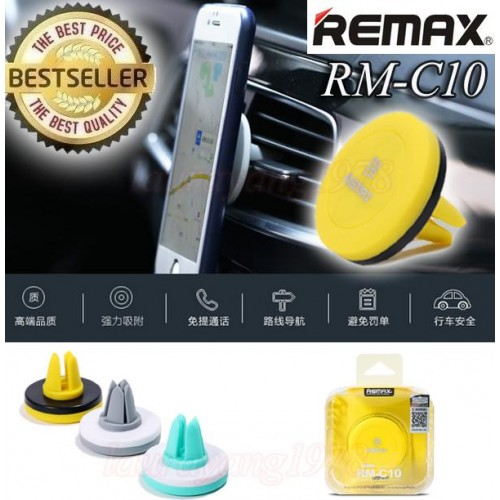 Remax RM-C10 Car phone holder aircon vent magnetic portable small. ‹ ›