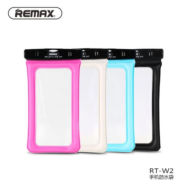 Remax RT-W2 Plus Phone Waterproof Seal Bag Case Floatable 6-Inch