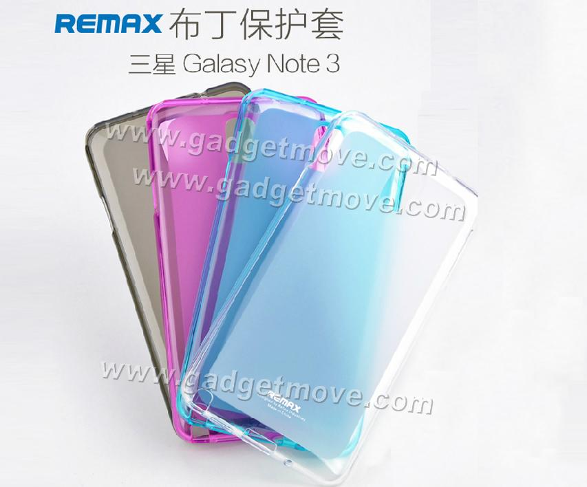 quality design a4eea ff1be Remax Samsung Galaxy Note 3 / Neo Silicone TPU Pudding Back Cover Case