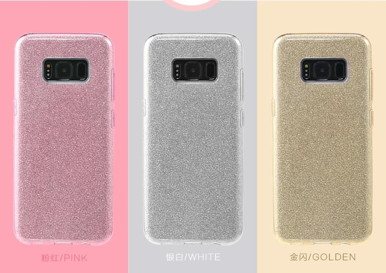 detailed look f0892 d476f Remax Samsung Galaxy S8 / S8+ Plus Glitter Shining Bling Case Cover