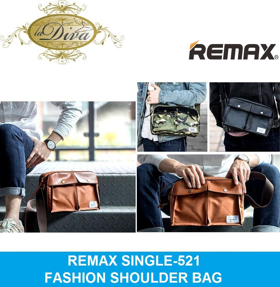 REMAX SINGLE 521 FASHION PREMIUM SINGLE SHOULDER BAG