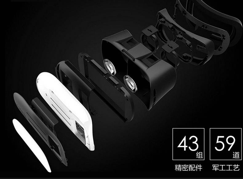 bae000c5039 REMAX Virtual Reality 3D Movies Games VR Glasses Support 6 inch