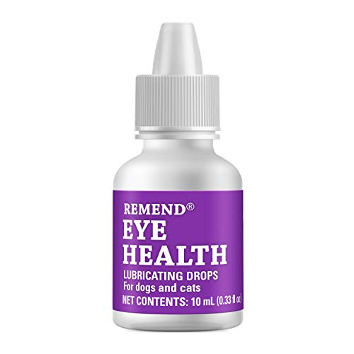 Remend Eye Health Lubricating Drops for Dogs and Cats, 10 mL / Shipping from U