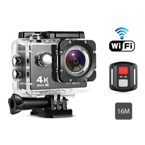 REMOTE CONTROL 4K WATERPROOF ACTION CAMERA FOR SPORTS (BLACK)
