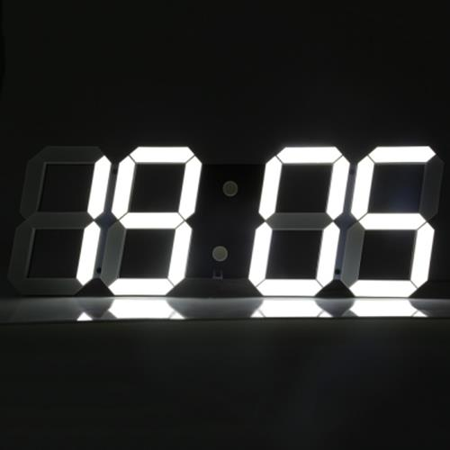 REMOTE CONTROL BIG LED DIGITAL WALL CLOCK STOPWATCH THERMOMETER COUNTDOWN  CALE. ‹ › 1d1e325b51