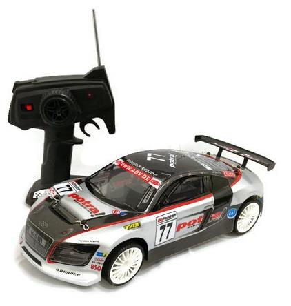 Remote Control R8 Supersport RC Drift Car Toy + Free 4pcs Tyres