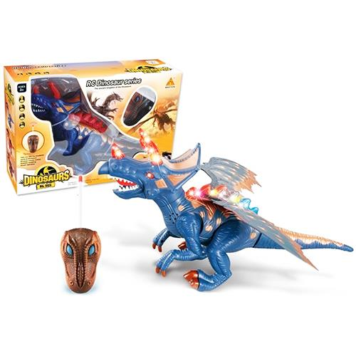 Dinosaurs Mdf Toy Box Childrens Storage Toys Games Books: Remote Control RC Walking Dragon Din (end 2/23/2018 1:15 PM