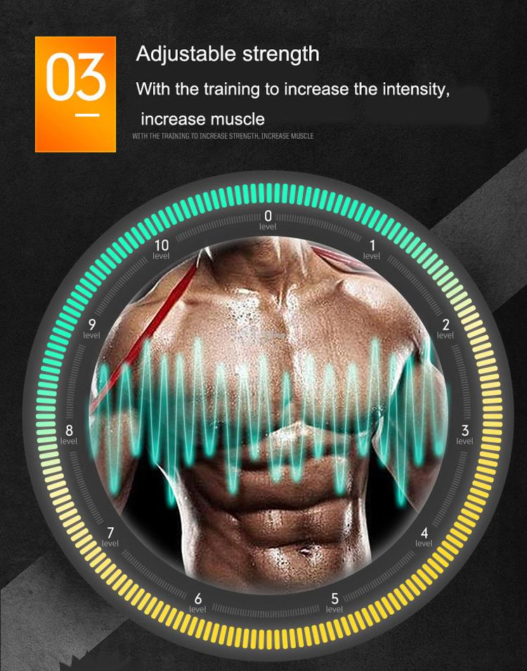 New Remote Control Rechargeable EMS Muscle Training Gear Body Fitness